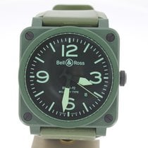 Bell & Ross BR 03-92 MILITARY (B&P2010) MINT 42mm BlackDial