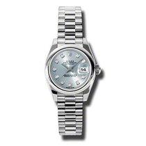 Rolex Platinum Blue 26mm new Lady-Datejust