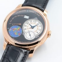 F.P.Journe Rose gold Automatic Black No numerals 40mm pre-owned Octa