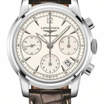 Longines Saint-Imier Steel 39mm Silver United States of America, New York, Airmont