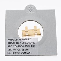 Audemars Piguet Parts/Accessories Men's watch/Unisex pre-owned Yellow gold Gold Royal Oak Offshore Chronograph