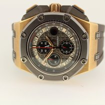 Audemars Piguet Royal Oak Offshore Chronograph Oro rosado 44mm Gris Sin cifras