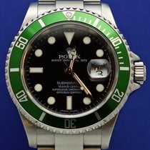 Rolex Submariner Date begagnad 40mm Stål