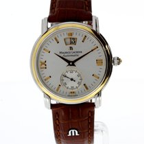 Maurice Lacroix Masterpiece Gold/Steel 38mm Silver