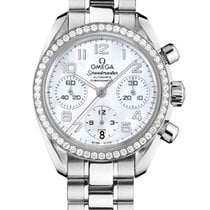 Omega Mother of pearl new Speedmaster Ladies Chronograph