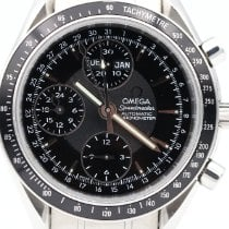 Omega Speedmaster Day Date Steel 40mm Black No numerals