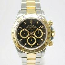 Rolex Daytona Zlato/Zeljezo 40mm Bez brojeva