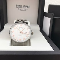 Bruno Söhnle pre-owned Automatic 42mm Champagne Sapphire Glass 5 ATM
