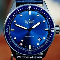 Blancpain Fifty Fathoms Bathyscaphe Ceramic 43.6mm Blue United States of America, Missouri, Chesterfield