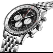 Breitling Navitimer 01 (46 MM) Steel 46mm Black No numerals