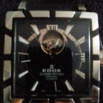 Edox Acier 38mm Remontage automatique occasion Belgique, wanfercée baulet