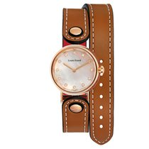Louis Erard Romance Gold/Steel 45mm Mother of pearl