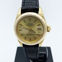 Rolex Lady-Datejust Or jaune 26mm Noir Sans chiffres France, Paris