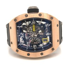 Richard Mille RM 030 Oro rosado 50mm