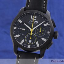 Union Glashütte Acier 42.5mm Remontage automatique D002.627.A occasion