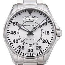 Hamilton Khaki Pilot Day Date Steel 42mm Silver