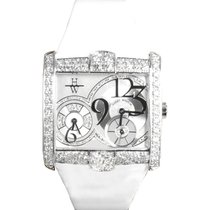 Harry Winston White gold Quartz 350/LQTZW new