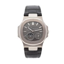 Patek Philippe Nautilus White gold 40mm Grey No numerals United States of America, Pennsylvania, Bala Cynwyd