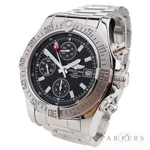Breitling Avenger II pre-owned 43mm Chronograph Date Steel
