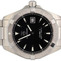TAG Heuer Aquaracer 300M Steel 41,00mm Black No numerals