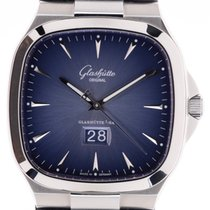 Glashütte Original Seventies Panorama Date Steel 40mm Blue No numerals
