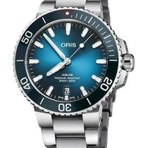Oris Aquis Date Steel 39.5mm Blue United States of America, New Jersey, Cherry Hill