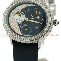 Audemars Piguet Millenary Ladies White gold 39mm Blue United States of America, New York, New York