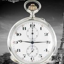 Longines Uhr gebraucht 1915 Silber 54mm Arabisch Handaufzug Nur Uhr