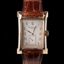 Patek Philippe Pagoda Rotgold 41mm Silber
