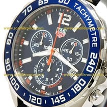 TAG Heuer Formula 1 Quartz CAZ1014.FC8196 - TAGHEUER F1 Blue Strap Born Blue and Orange new