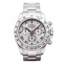 Rolex Cosmograph Daytona 40mm 18K White Gold 116509 Mens Watch