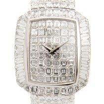 Piaget Limelight 18k White Gold With Diamond Silver Quartz...