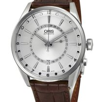 Oris Artix Pointer Moon Date Automatic Steel Mens Strap Watch...