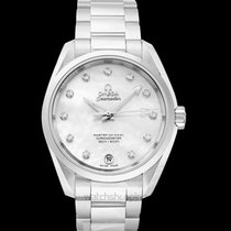 Omega Seamaster Aqua Terra Steel 38.5mm Mother of pearl United States of America, California, San Mateo