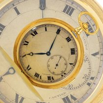 Cartier Watch pre-owned 1930 Yellow gold 46mm Roman numerals Manual winding Watch only