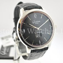 Glashütte Original Sixties Panorama Date pre-owned Leather