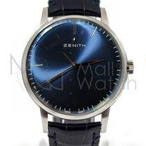 Zenith Elite 6150 Acero 42mm Azul