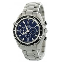 Omega Seamaster Planet Ocean Chronograph Steel 45.5mm Black United States of America, New York, New York