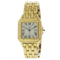 Cartier Panthere Large W25014B9 18K Yellow Gold Watch