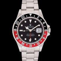 Rolex GMT-Master II Black Red/Steel Ø40mm - 16710