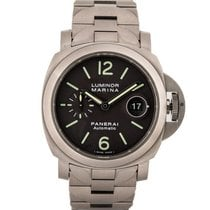 Panerai Luminor Marina Automatic Titanium 44mm Black Arabic numerals