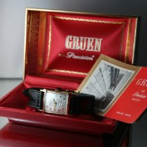 Gruen 23mm Manual winding Curvex pre-owned