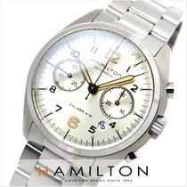 Hamilton Khaki Pilot Pioneer new Automatic Chronograph Watch with original box and original papers H76416155