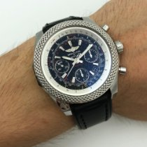 Breitling Bentley B06 Steel 44mm Black Arabic numerals United States of America, New York, NYC