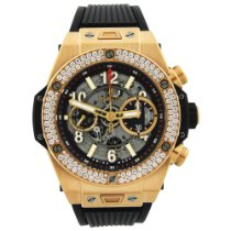 Hublot Big Bang Unico Rose gold 42mm Transparent