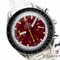 Omega Speedmaster Reduced Steel 39mm Red No numerals
