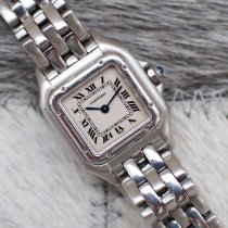 Cartier Panthère Steel 22mm Silver Roman numerals United States of America, Virginia, Sterling