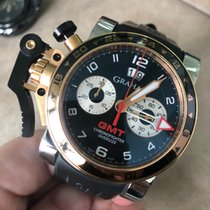 Graham Chronofighter Oversize 2OVGG.B21A.K10S pre-owned