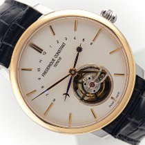 Frederique Constant Manufacture Tourbillon Or rose 43mm Blanc
