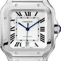 Cartier Santos (submodel) WSSA0009 Very good Steel 39.8mm Automatic